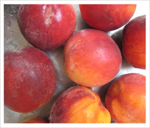 Summertime...and peaches are easy