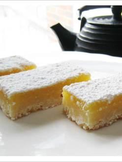 Delicious zippy lemon squares