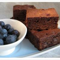 The Sweetest Thing - Double Chocolate Blueberry Brownies