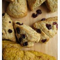 Hello baby! - Lemon Cranberry Scones