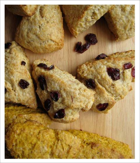 Scones - plain, lemon cranberry and pumpkin spice | EmmaEats