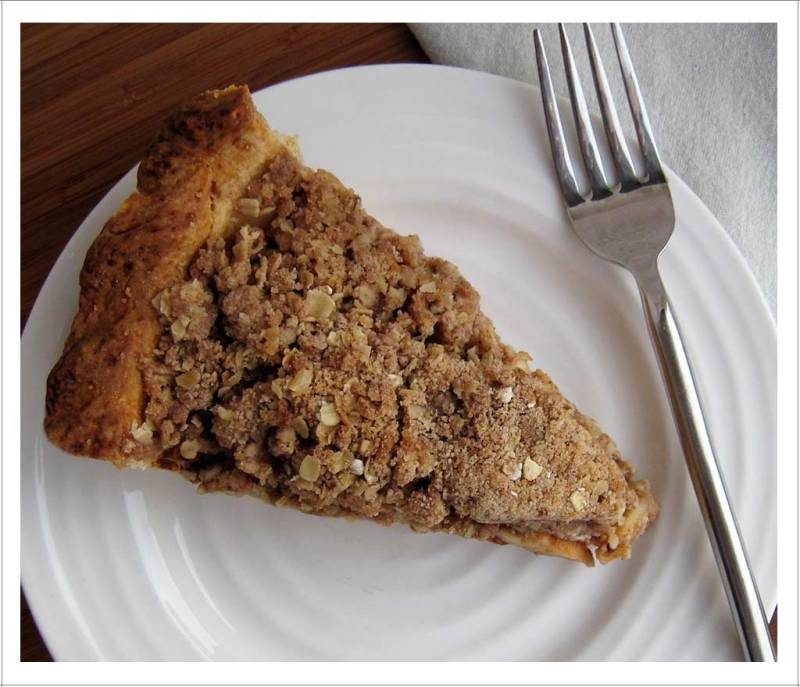 A Slice of Apple Crumble Pie