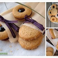 Honey Honey, Food for the Bees - Whole Wheat Honey Cookies