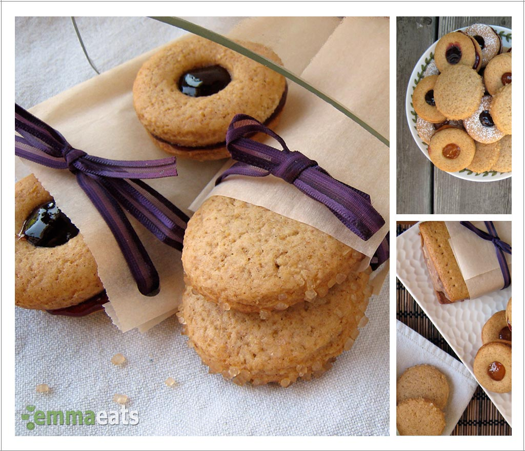 Whole Wheat Honey Cookies