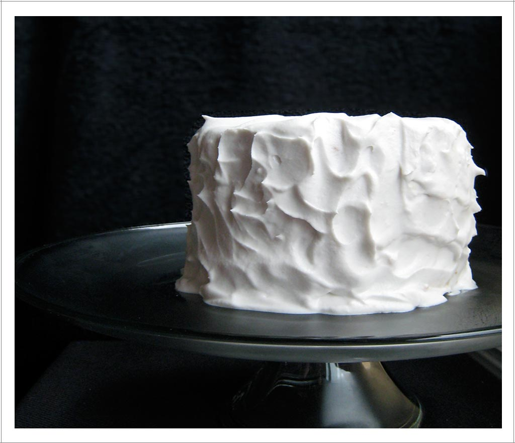 Cake With Whipped Cream Topping : Wonderful One   Lemon Olive Oil Layer Cake with Coconut ...