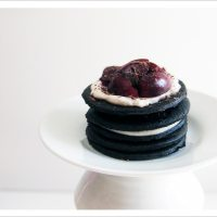 Don't Think Twice - Individual Black Forest Icebox Cakes