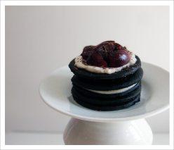 Individual Black Forest Icebox Cake