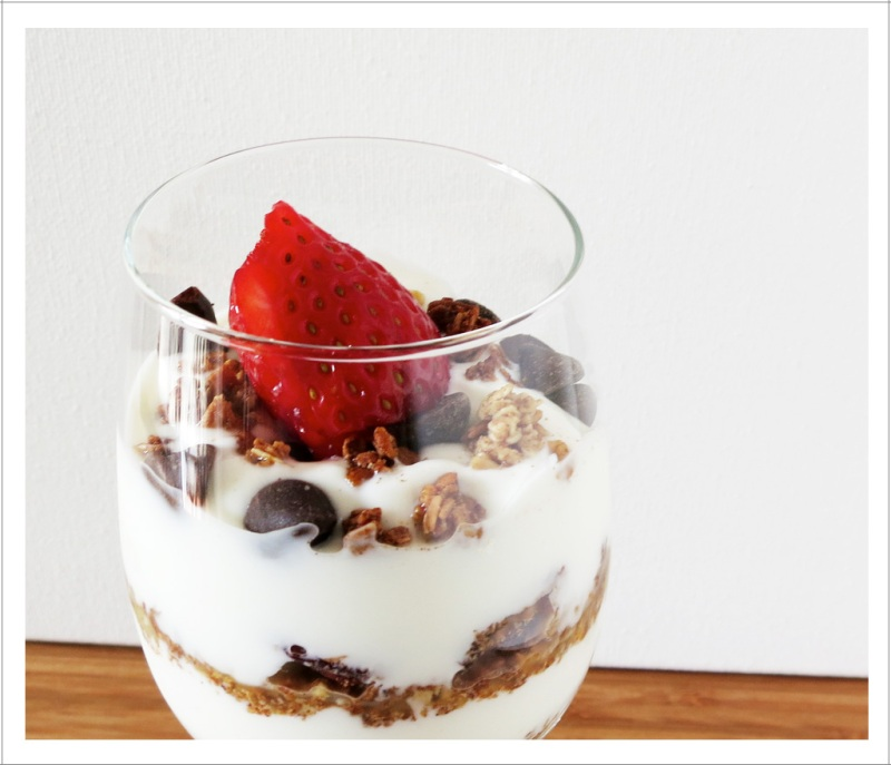 Granola and Berry Parfait