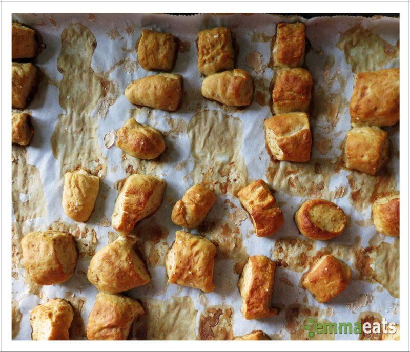 Whole Wheat Honey Pretzel Bites