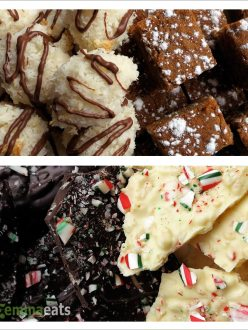 Macaroons, Ginger Spice Cake and Crispy Mint Chocolate Bark