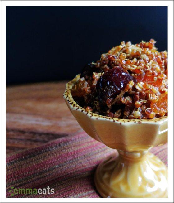 Warm Moroccan Quinoa Salad