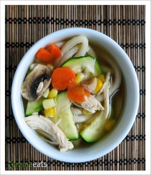 Quick Udon Soup | EmmaEats