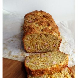 Ham and Cheddar Quickbread | EmmaEats