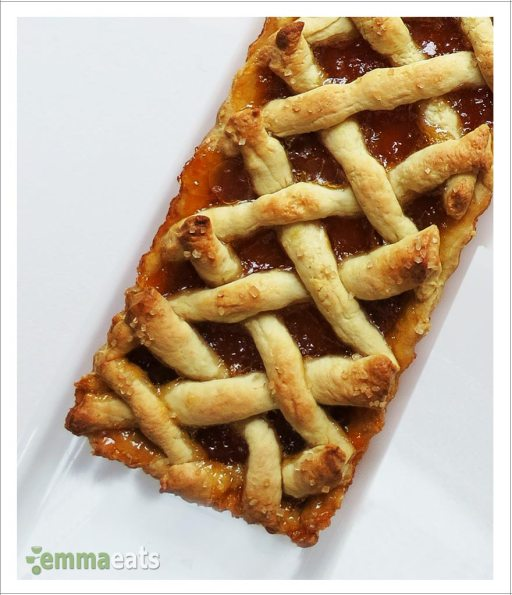 Apricot Tart Squares | Racsos | EmmaEats