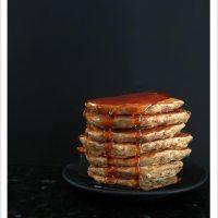 Oatmeal and Banana Pancakes [Vegan]