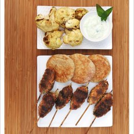 Lamb Lollypops with Cucumber Raita | EmmaEats
