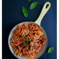 Pasta with Tuna, Garlic and Capers [Dairy-Free]