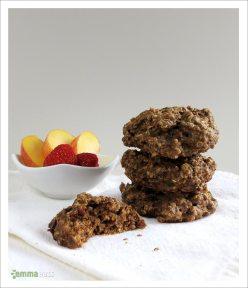 Peach Pie Soft Breakfast Cookies [Vegan] | EmmaEats