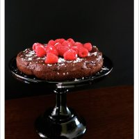 Chocolate Olive Oil Truffle Cake [Dairy-Free & Gluten-Free]