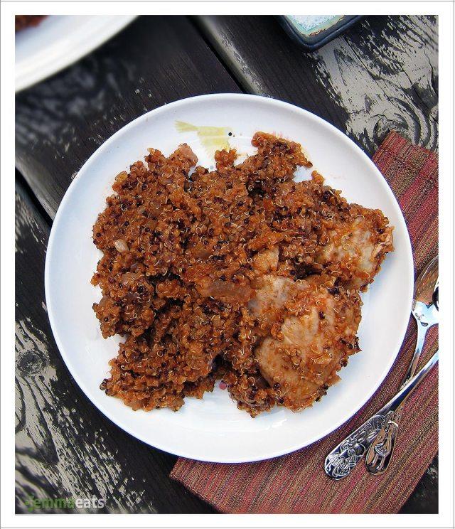 Spanish Chicken and Quinoa | EmmaEats