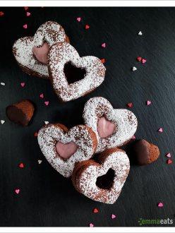 Chocolate Cinnamon Hearts [Vegan] | EmmaEats