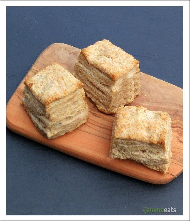 Sky High Spelt Breakfast Biscuits   EmmaEats
