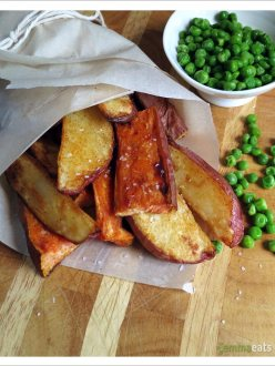 Crispy Baked Potato Wedges | EmmaEats