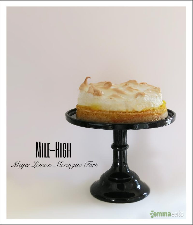 Mile-High Meyer Lemon Meringue Tart | EmmaEats