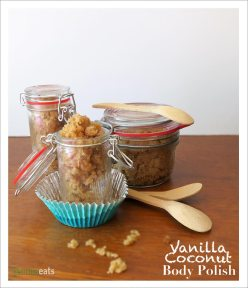 Vanilla Coconut Body Polish | EmmaEats