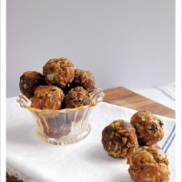 No-Bake Healthy Chocolate Chip Bites, 2 ways