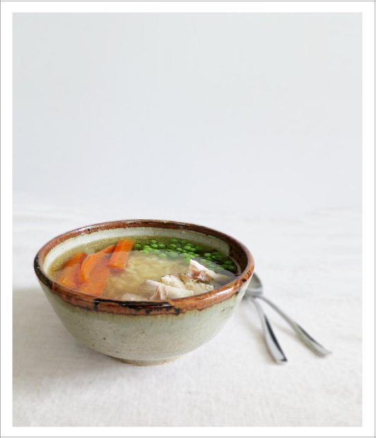 Bone-in Chicken Noodle Soup | EmmaEats