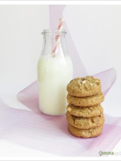 Cinnamon White Chocolate Chunk Cookies | EmmaEats