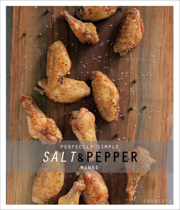 Perfectly Simple Salt & Pepper Wings | EmmaEats