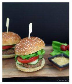 Fabulous Fast and Easy BBQ Turkey Burgers | EmmaEats